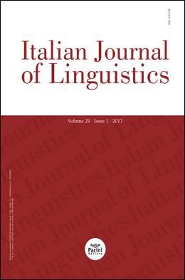 Italian Journal of linguistics